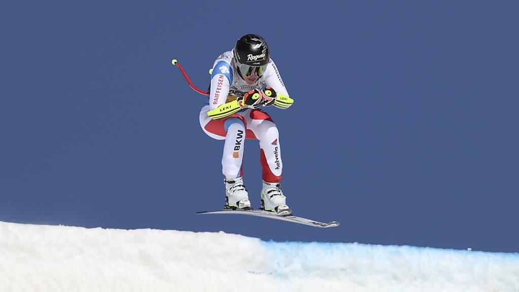 Lara Gut-Behrami winkt Führung im Gesamtweltcup