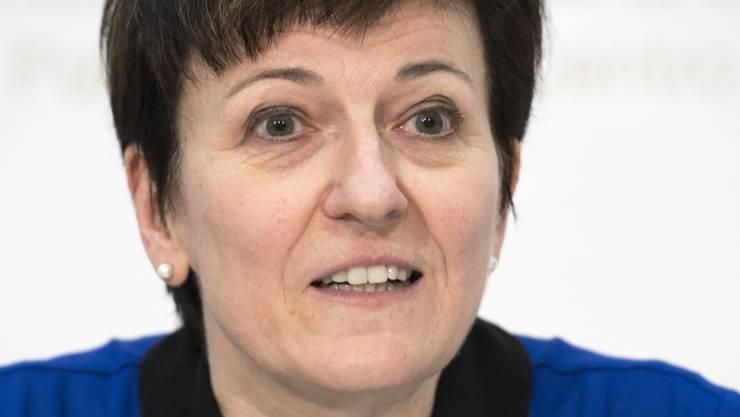 Nicoletta della Valle, Direktorin des Bundesamtes für Polizei (fedpol), blickt auf das vergangene Jahr zurück - ein Jahr mit Terroranschlägen in Europa.