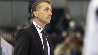 Fribourg-Trainer Mark French sah sein Team in Lugano regelrecht untergehen