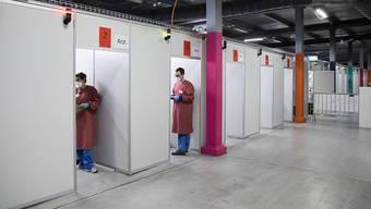 Der Kanton Baselland will sein Covid-19-Impfzentrum auf dem Areal des bestehenden Abklärungs- und Testzentrums Feldreben in Muttenz BL einrichten.