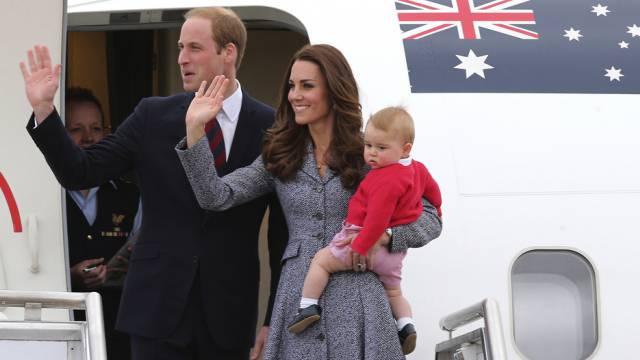 Bald kann der kleine Prinz George selber gehen (Archiv)