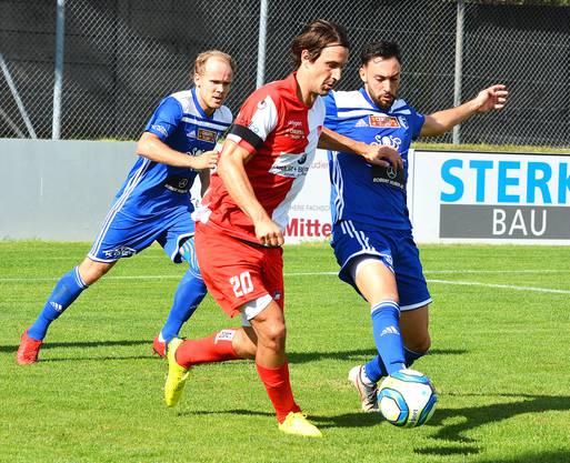 Der in der Super League erprobte Marco Mathys hängt eine weitere Saison beim FC Solothurn an.