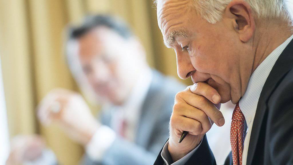 Der Aargauer Industrielle Michael Pieper hat mit seiner Industrie- und Finanzbeteiligungsgruppe Artemis 2018 weniger verdient. (Archivbild)