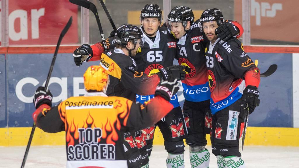 Siege für Bern, Biel und die SCL Tigers