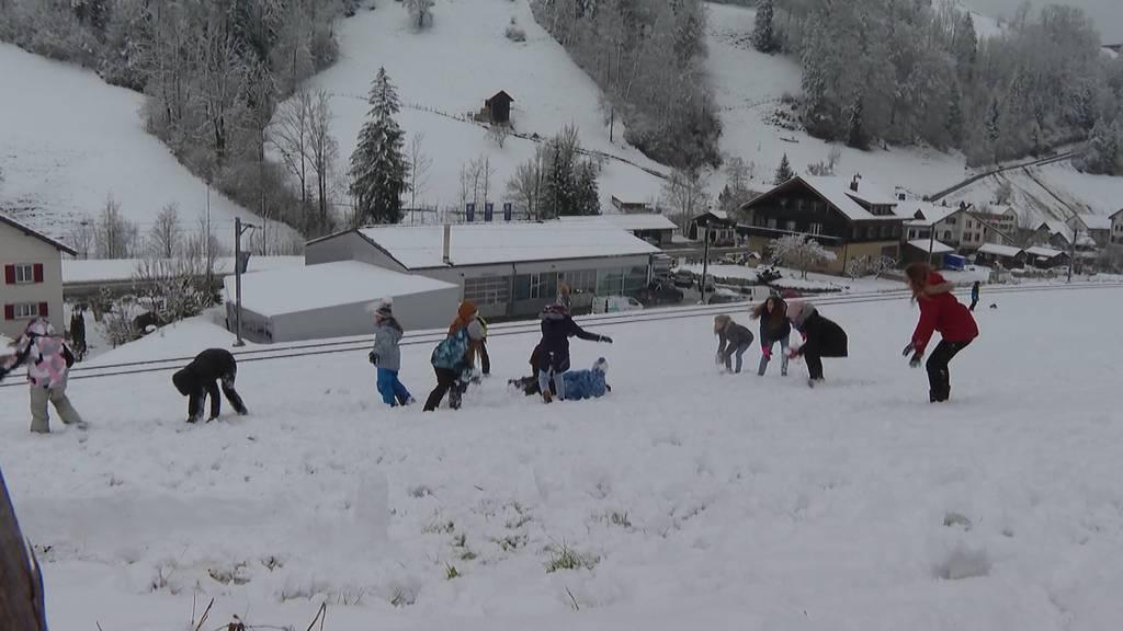 Bereits mehr Schnee als gesamten letzten Winter