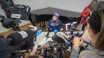 Die Norwegerin Ingvild Flugstad Östberg steht an der Tour de Ski nach den Geschichten über ihre Gewichtsprobleme unter immenser Beobachtung.