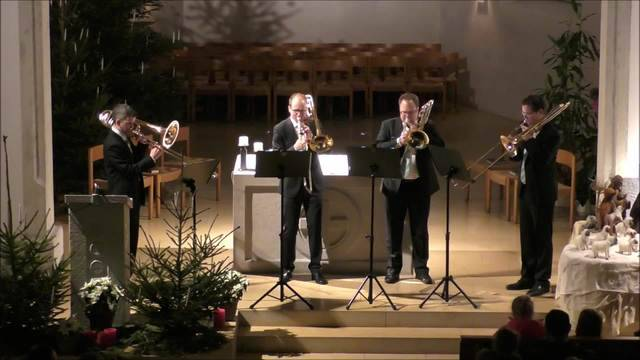 Neujahrskonzert der regionalen Band Gäubones