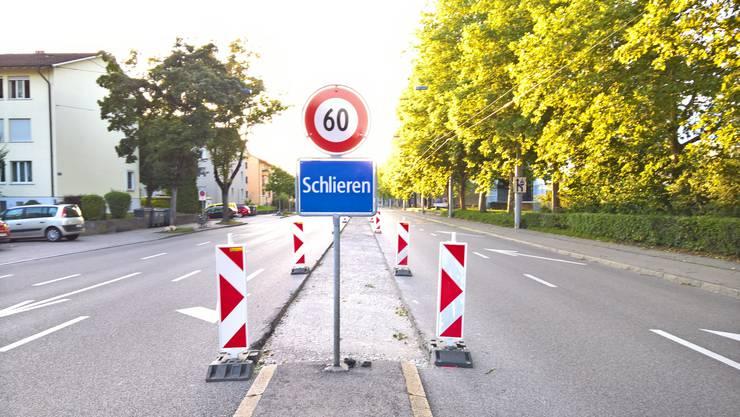 Achtung Baustelle: Die Bauarbeiten für die Limmattalbahn und die Verlängerung des 2er-Trams nach Schlieren haben begonnen.