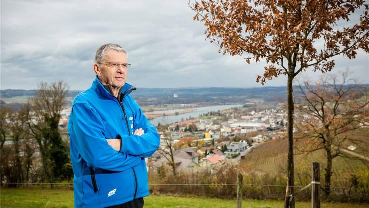 Pensionär mit allen Freiheiten und ohne Mandat: Leo Erne – im Hintergrund seine Wirkenskreise. Sandra Ardizzone