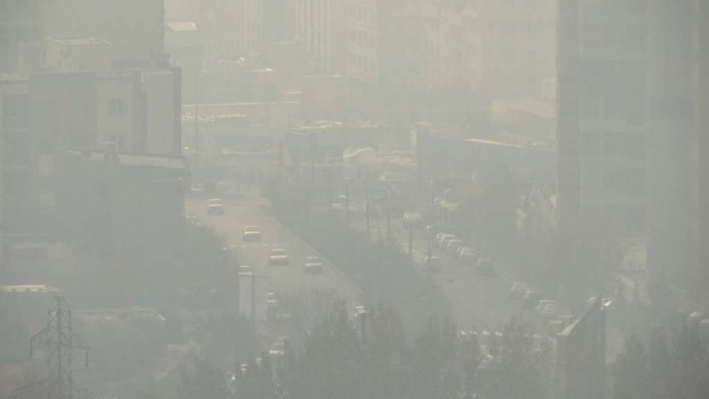 Wegen Luftverschmutzung: Schulen in Teheran geschlossen