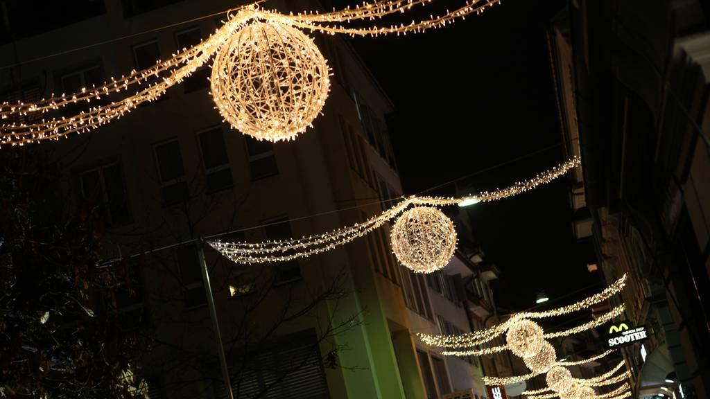 Weihnachtsbeleuchtung: Die Stadt Luzern leuchtet wieder