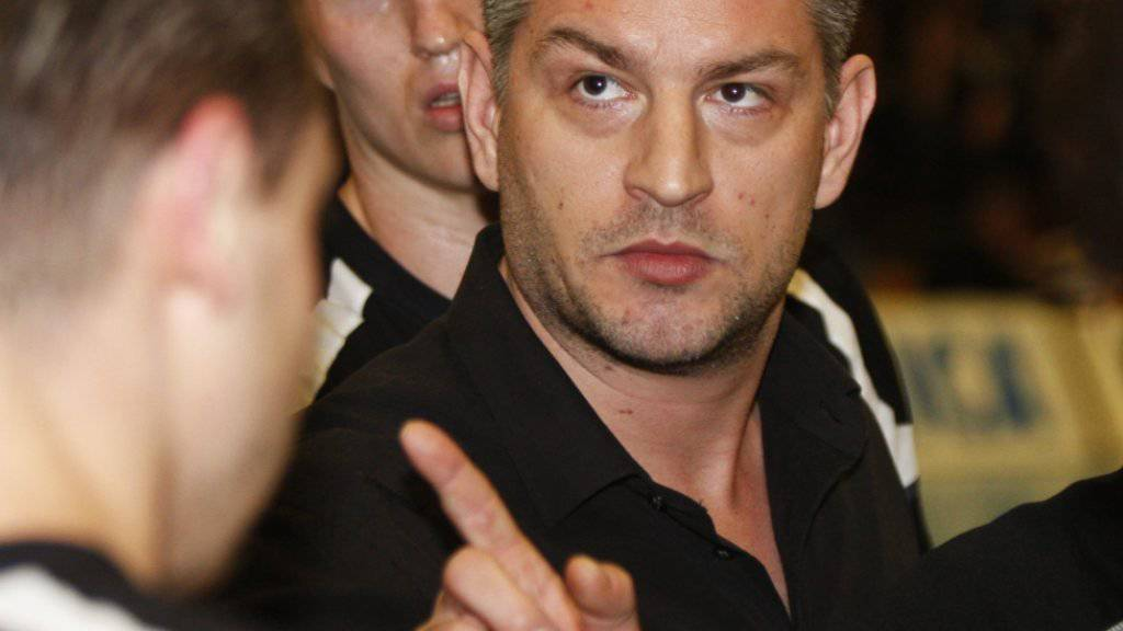 Findet Robbie Kostadinovic, der Trainer von GC Amicitia, auch am Samstag die richtigen Worte? (Archivbild)