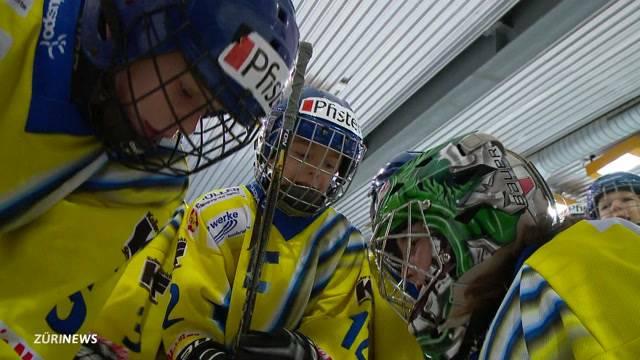 Bambini-Hockeyturnier in Dübendorf