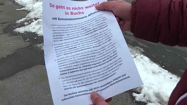 Buchser Gemeindegelder verschwendet?