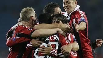 Milan holt sich in St. Petersburg gegen Zenit drei Punkte.