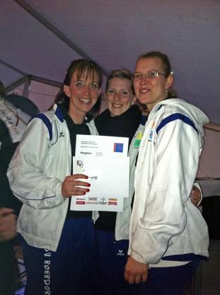 3. Rang für die Gym Dance Gruppe vom TSV Rohrdorf in der Gymnastik Kleinfeld