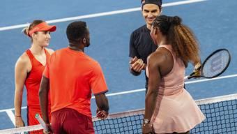 Hopman Cup im australischen Perth: Roger Federer und Belinda Bencic gegen das Team USA