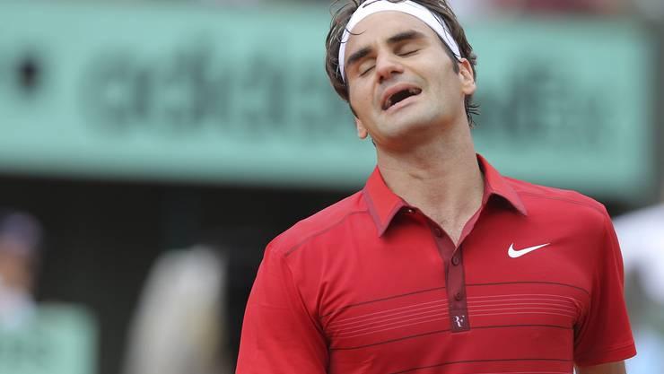 Roger Federer vergab den ersten Satz unnötig.