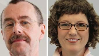 Dieter Keusch (KSB) geht im November, Claudia Käch hat das Spital Zofingen bereits verlassen.  az-Archiv