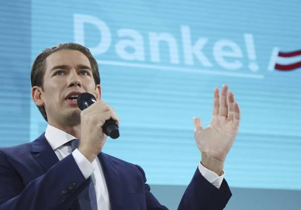 Sebastian Kurz gewann die Wahl haushoch. Doch mit welcher Partei soll er ergieren?