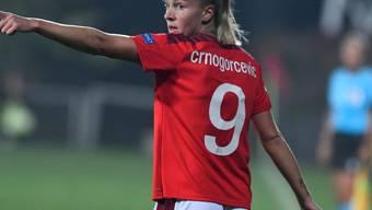 Ana-Maria Crnogorcevic und die Schweizerinnen müssen auf dem Weg an die EM 2022 womöglich eine Zusatzschlaufe einlegen