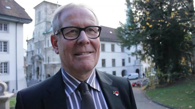 Der Solothurner Kantonsratspräsident Ernst Zingg über den Jugendpolittag
