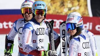 Ski-WM in St. Moritz Tag 9: Teamevent