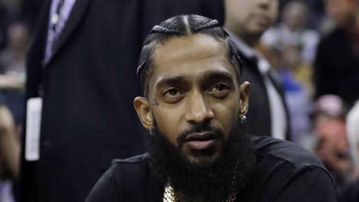 Die US-Behörden haben Anklage gegen einen Mann erhoben, der den US-Rapper Nipsey Hussle (Bild) erschossen haben soll. (Archivbild)
