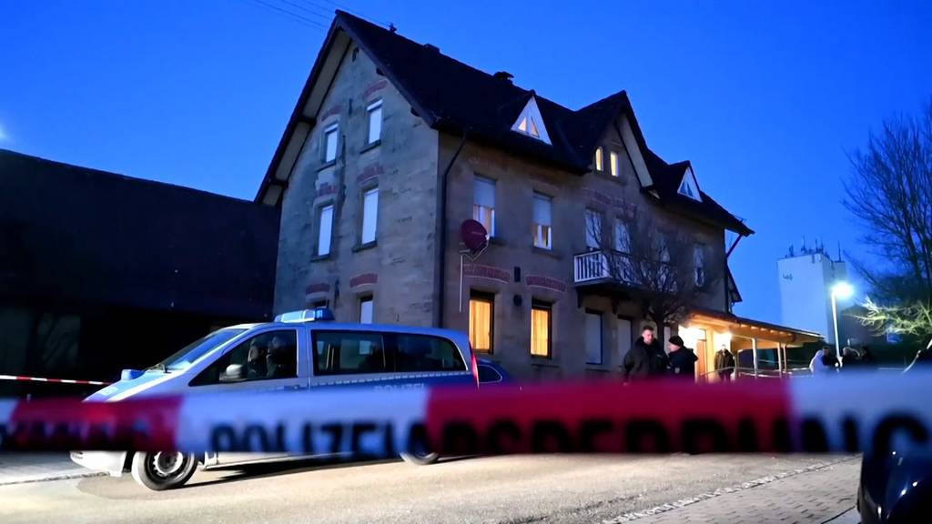 Zwei Verbrechen mit sieben Toten erschüttern Baden-Württemberg