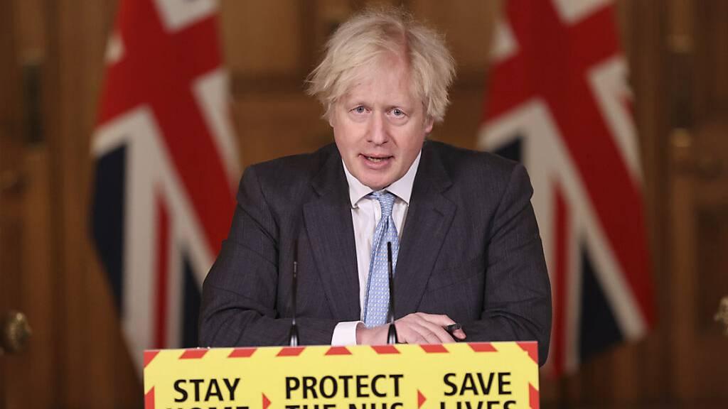 Johnson: Mehr als 13 Millionen Briten geimpft