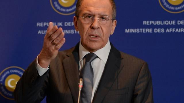 Der russische Aussenminister Sergej Lawrow