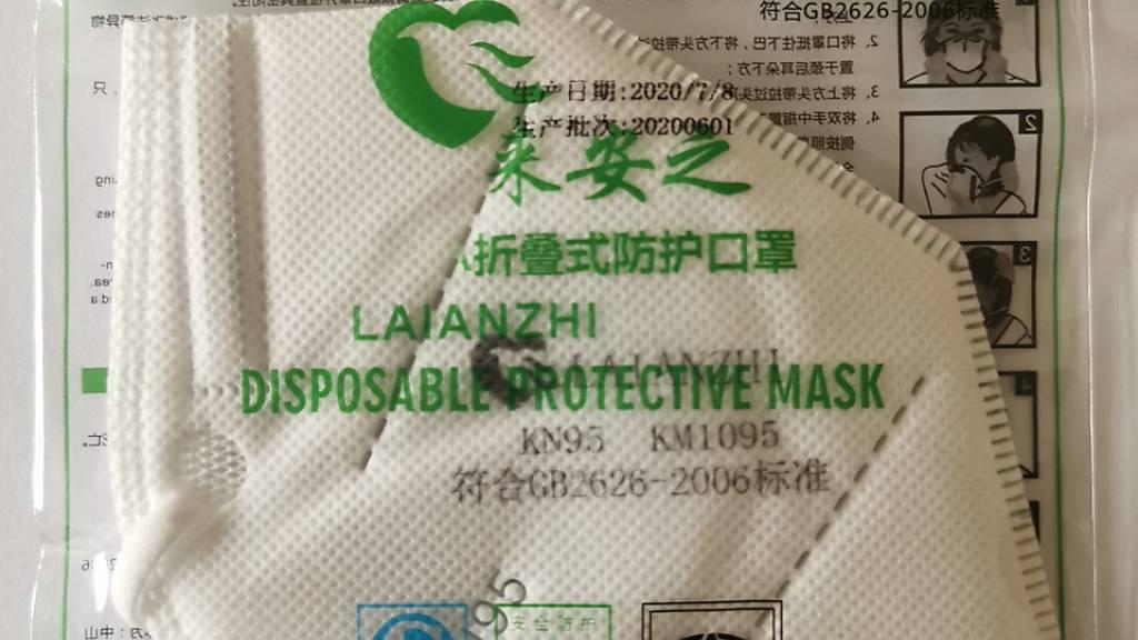 Hersteller ruft mangelhafte Atemschutzmaske zurück
