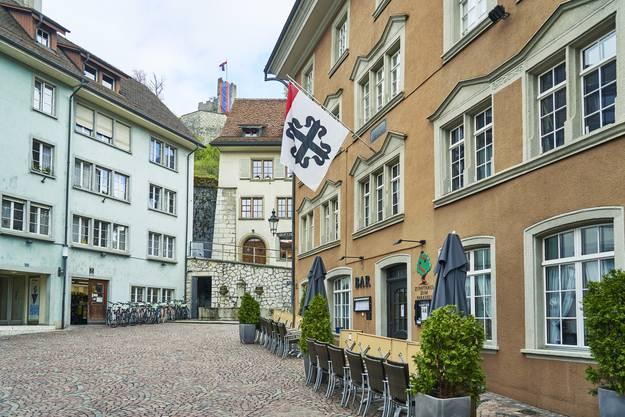 Ein Rundgang durchs Badener Altstadtquartier: der Cordulaplatz.