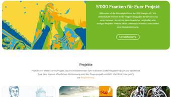 Erste Projekte sind auf der Website bereits aufgeschaltet.