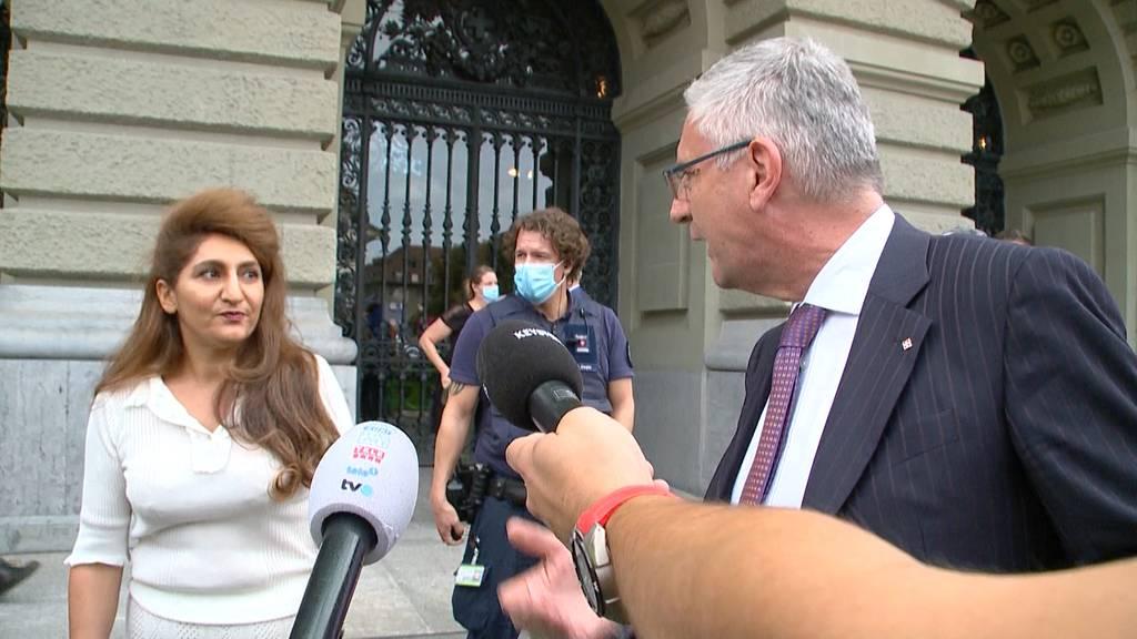 Rücktritt gefordert: Andreas Glarner nach Wortgefecht mit Sibel Arslan in Kritik