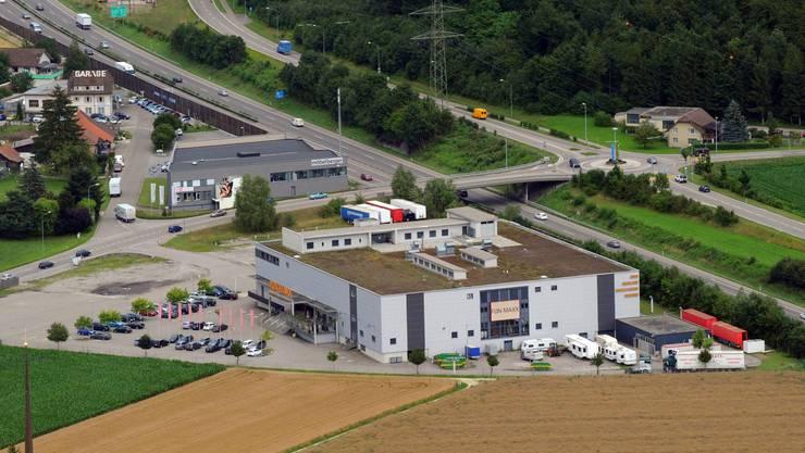 Die Liegenschaft an der Zürichstrasse in Oftringen wird im September versteigert.