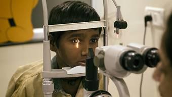 Solothurner helfen Blinden und Augenkranken