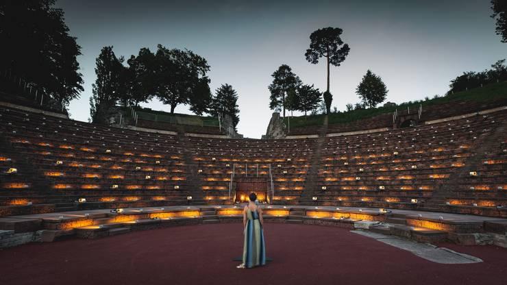 Der mexikanische Künstler Rafael Lozano-Hemmer verwandelt Augusta Raurica in ein Stimmentheater