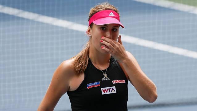 Belinda Bencic scheitert in Peking an Ana Ivanovic.