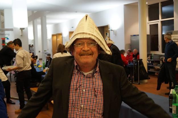 Ein bisschen wie Napoleon: Gemeinderat Peter Wettler (parteilos)