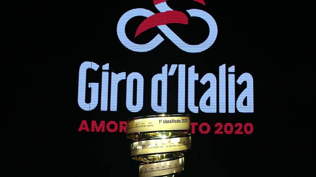 Um diese Trophäe wird in den nächsten drei Wochen am Giro d'Italia gefahren
