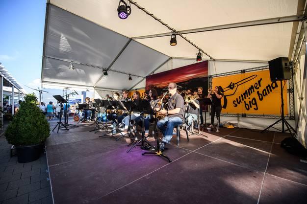 Open Air Konzert der Summer Big Band