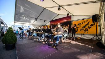 Open Air Konzert der Summer Big Band in Grenchen