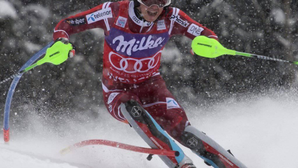 Henrik Kristoffersen - die momentane Nummer 1 im Slalom