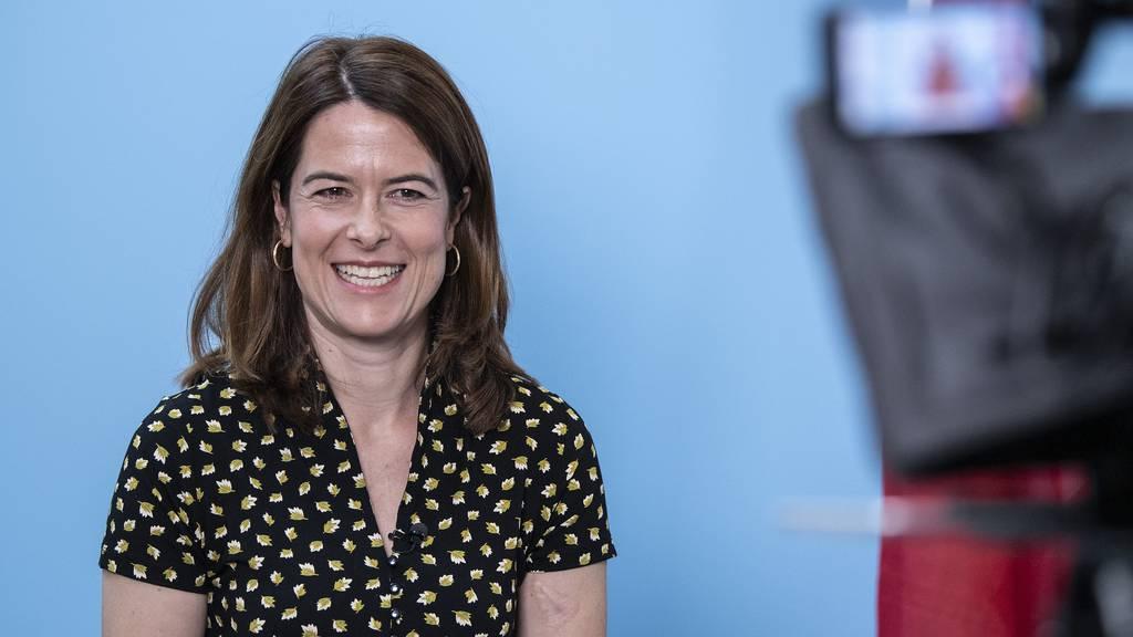 Petra Gössi setzt weiterhin auf das Thema Nachhaltigkeit – und wird klar im Amt bestätigt