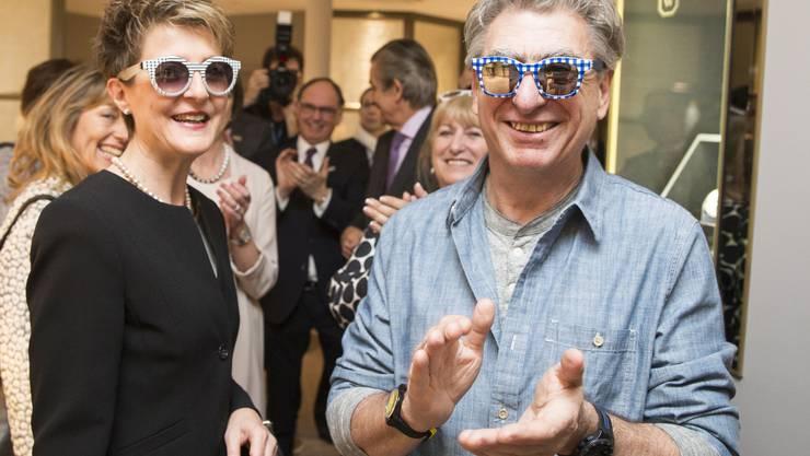 Nick Hayek findet sich, die Baselworld und Bundesrätin Simonetta Sommaruga super (2016)