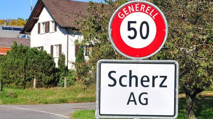 Kein Scherz: Diese Gemeinde gibt es im Aargau wirklich.
