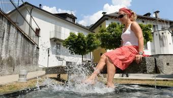Heute gibt es in der Schweiz den ersten Hitzetag (Archivbild).