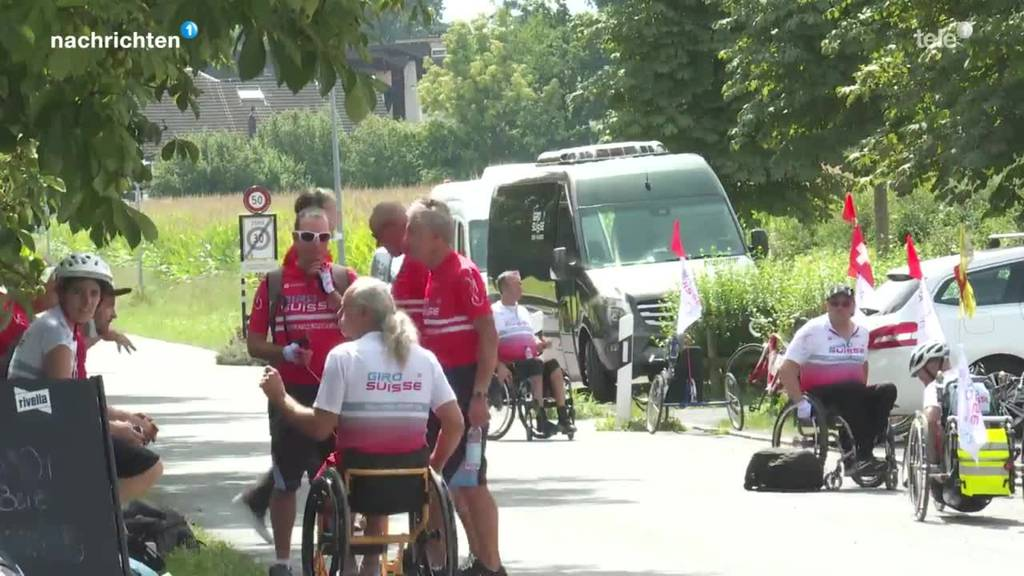 Die Tour de Suisse im Rollstuhl
