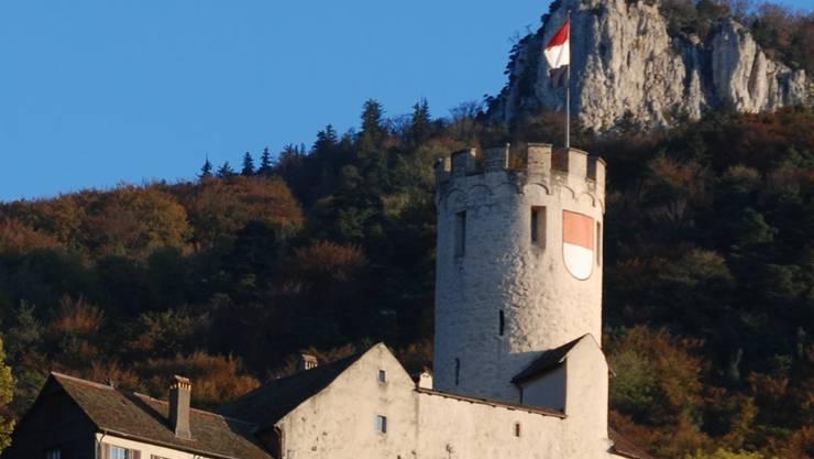Schloss Neu-Bechburg: Am Wochenende ist dort Kunstmarkt.